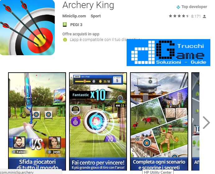 Trucchi Archery King Mod Apk Android v1.0.7