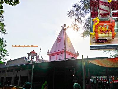 Alopi Devi Mandir at Alopi Bagh - Allahabad