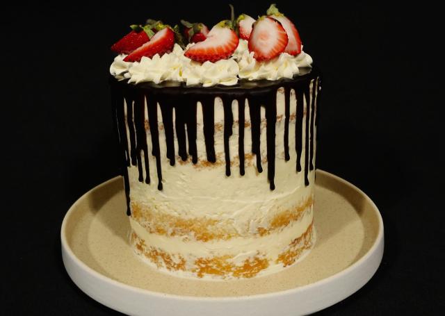 HERMOSA decoración pastel DRIP CAKE [paso a paso]