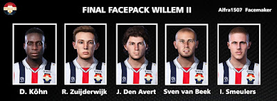 PES 2021 Facepack Willem II by Alfra1507 Facemaker