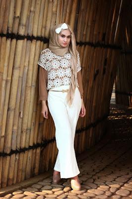Foto Cewek Model  hijab untuk wajah bulat Foto Cewek Model  hijab untuk perpisahan sekolah