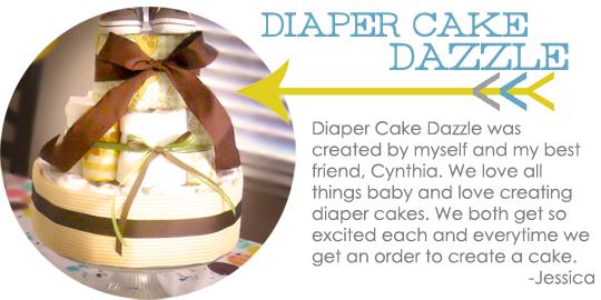 Diaper Cake Dazzle