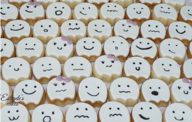 galletas de fantasmas, geniales para hacer con niños 1