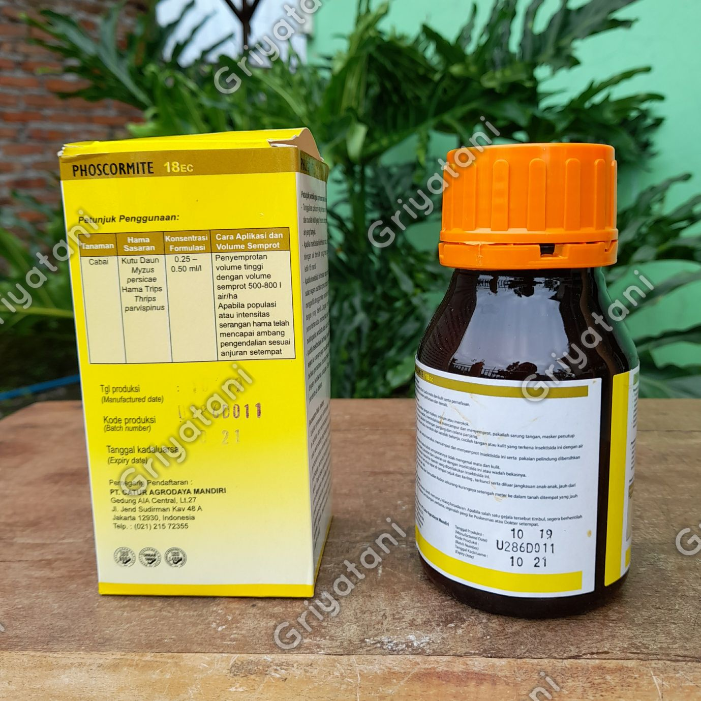 insektisida Phoscormite