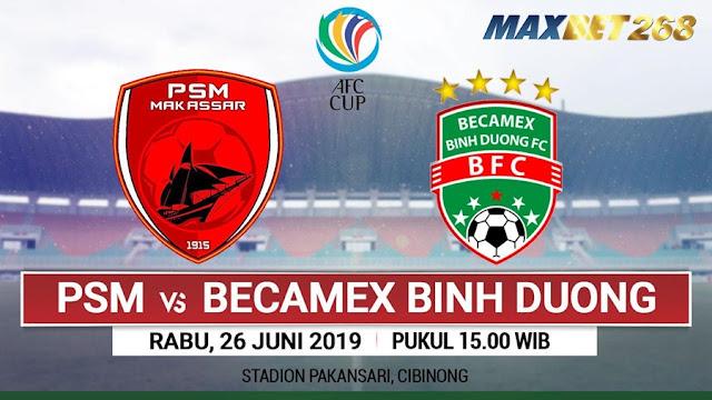 Prediksi PSM Makassar Vs Becamex Binh Duong, Rabu 26 Juni 2019 Pukul 15.30 WIB