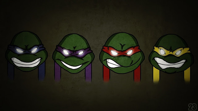 cute teenage mutant ninja turtles wallpaper