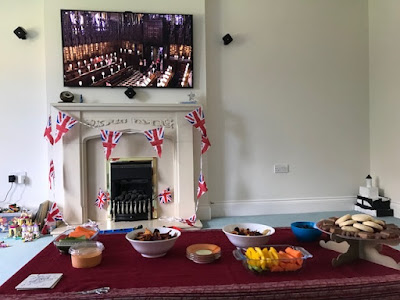 Watching the Royal Wedding