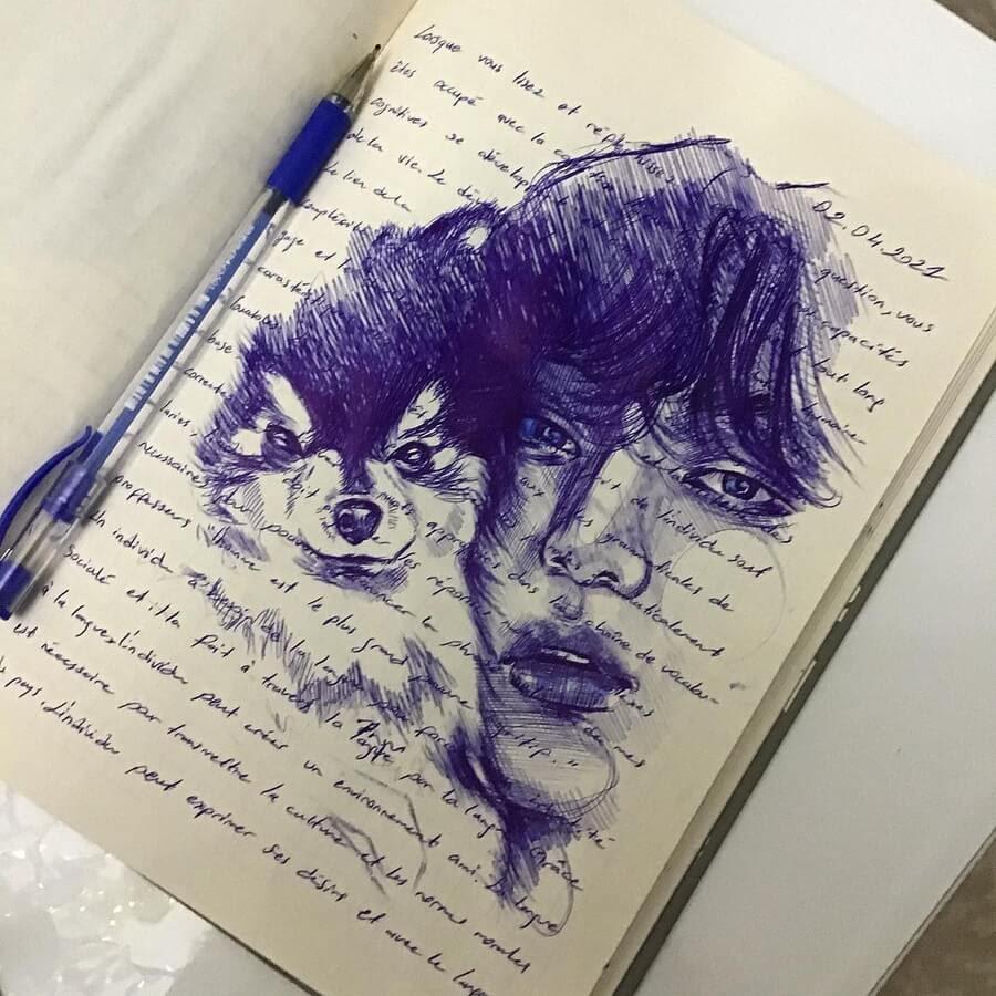 08-Ballpoint-Pen-Portraits-Pınar-Nur-Guven-www-designstack-co