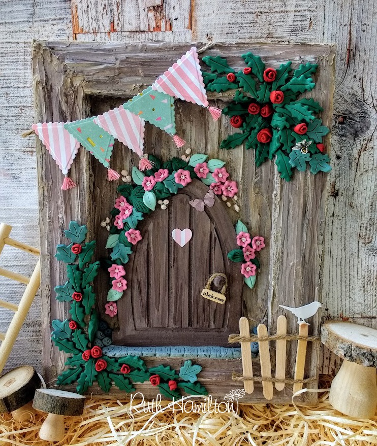A Passion For Cards: How to make a Reverse Canvas Fairy Door