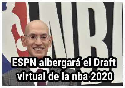 ESPN albergará el Draft virtual de la nba 2020 el 18 de noviembre
