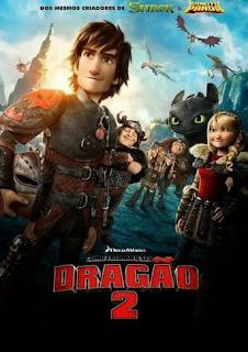 Baixar Como Treinar o Seu Dragão 2 Torrent Dublado - BluRay 720p/1080p