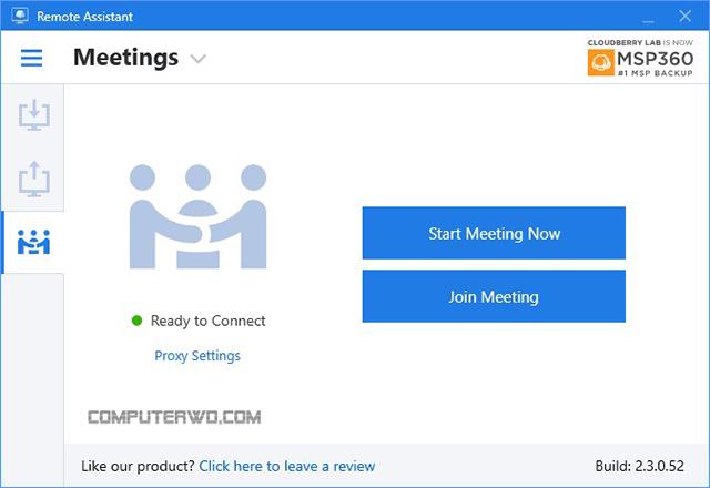 Remote Assistant meeting - برامج تحكم عن بعد عالم الكمبيوتر