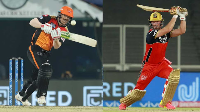 IPL 2021 RCB vs DC: AB De Villiers ने खेली 75 रन की नाबाद पारी, David Warner बोले-'My Idol'