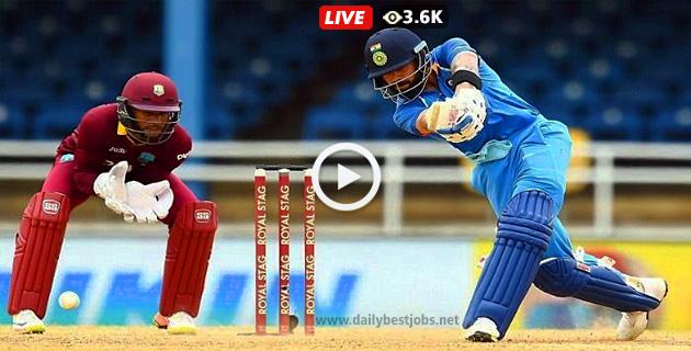 IND Vs WI ODI Live Streaming Live Cricket Score