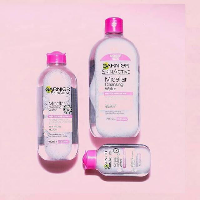 manfaat micellar water garnier pink