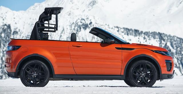 SUVでオープンカー!「レンジローバー・イヴォーク・コンバーチブル」が日本で受注開始!