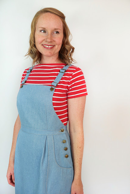 c7cdd51d627 New Pattern Release - The Pippi Pinafore...