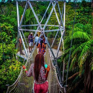 places to visit in Lagos Nigeria Lekki conservation centre