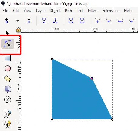 Dasar Cara Membuat Objek Di Inkscape 1.0