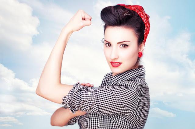 إمرأة قوية و مستقلة
