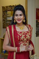 Jenny Honey in Stunning Dark Red Anarkali Dress at Splurge   Divalicious curtain raiser ~ Exclusive Celebrities Galleries 029.JPG