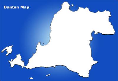 image: Banten blank map