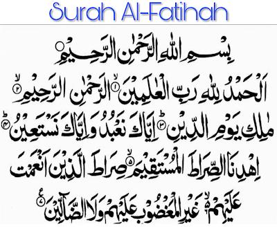 Inilah Fadhilat Dan Khasiat Surah Al-Fatihah Yang Dahsyat