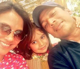 Lara Dutta With Child