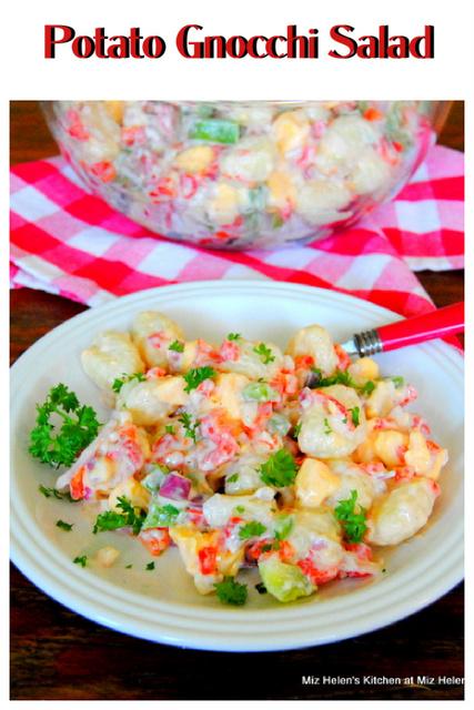 Potato Gnocchi Salad at Miz Helen's Country Cottage