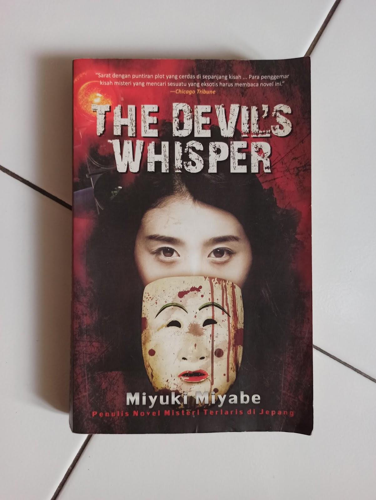 Cover Depan Novel The Devils Whisper