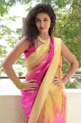 pavani new photos in saree-thumbnail-36