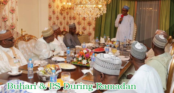 buhari sacks permanent secretaries ramadan