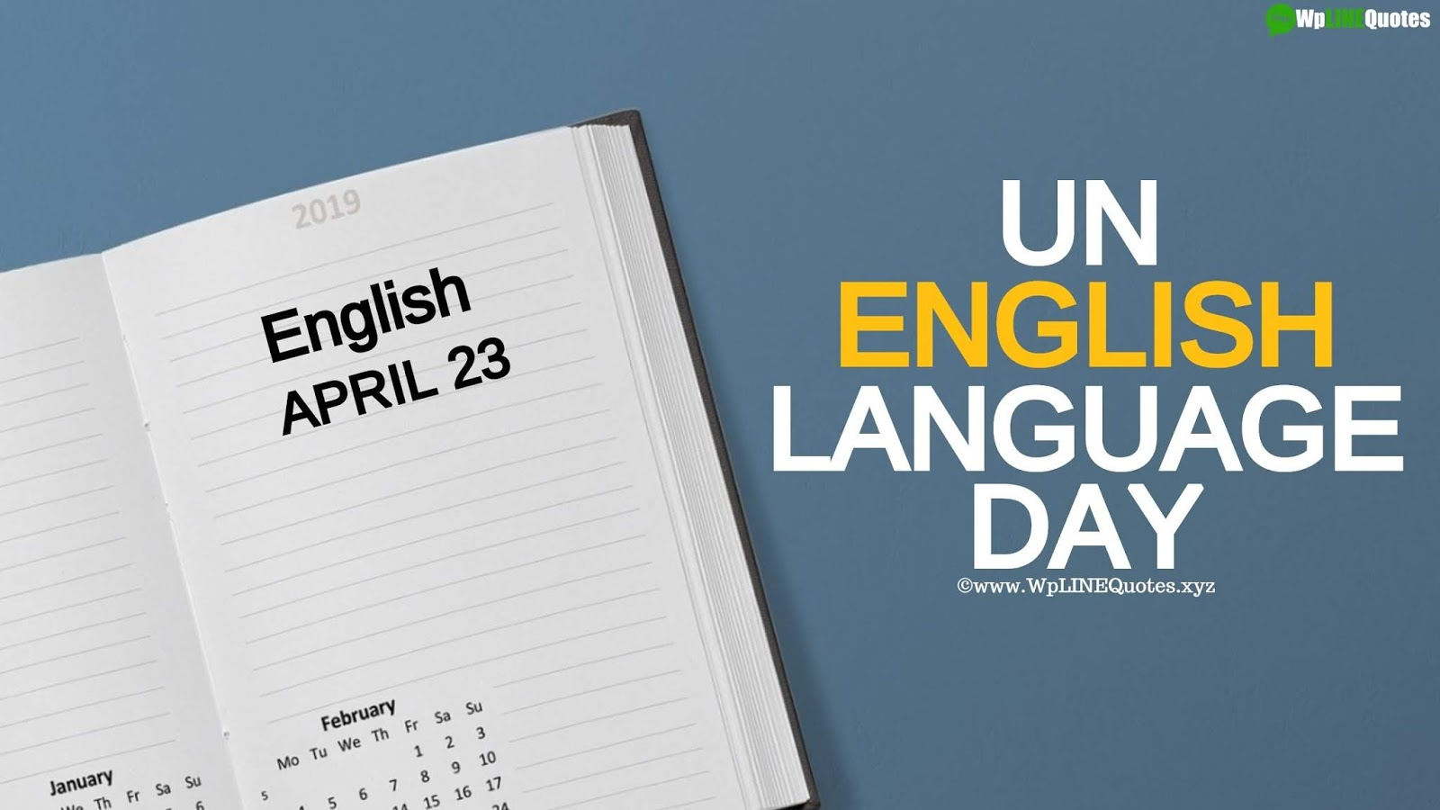 UN English Language Day Quotes, Wishes, Facts, Images, Poster, Pictures