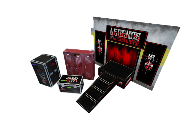Boss Fight Extreme-Sets Legends of Lucha Libre 1:16 Scale Event Diorama