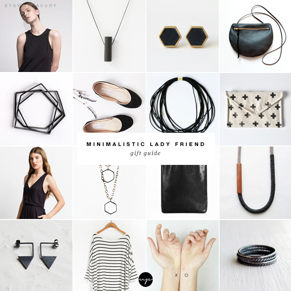 Minimalistic lady friend gift guide | My Paradissi