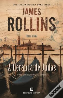 #Livros - A Herança de Judas, de James Rollins