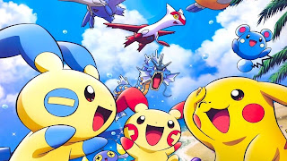 Pikachu PS3 Background