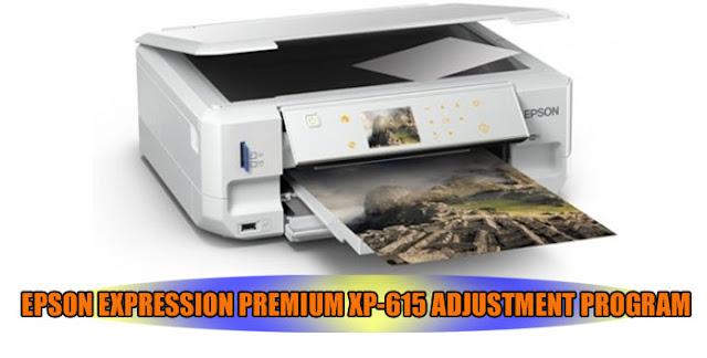 EPSON EXPRESSION PREMIUM XP-615 PRINTER ADJUSTMENT PROGRAM