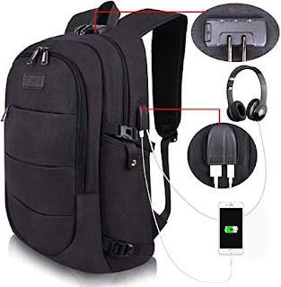 Travel Laptop Backpack, bag rare