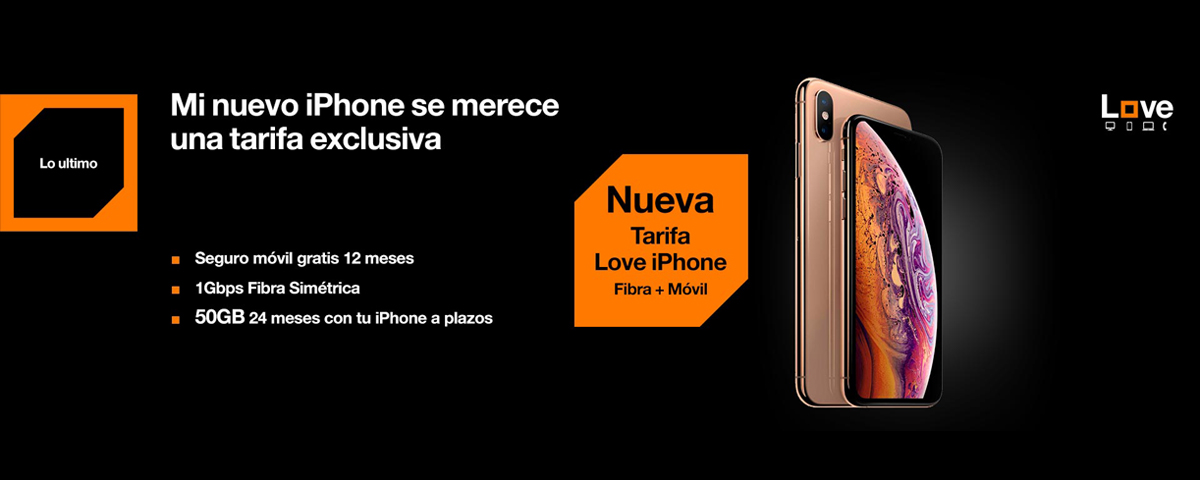 Orange lanza la nueva tarifa Love iPhone