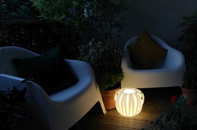 Lineazero-Quee: Lampada senza fili a batteria ricaricabile