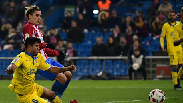 Video Atletico Madrid - Las Palmas: Ngôi sao mở khóa