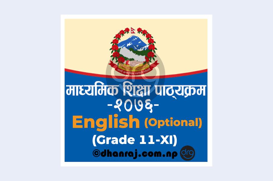 Curriculum-of-Grade-11-XI-English-Optional-Subject-Code-333-2076