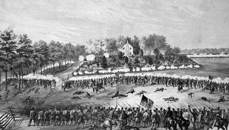attempting to capture Vicksburg