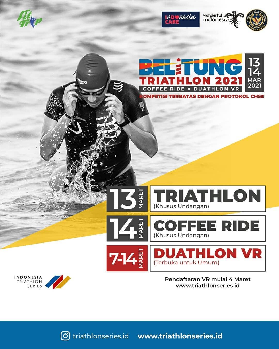 Indonesia Triathlon Series - Belitung Duathlon VR • 2021