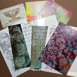 CraftyColonel Donna Nuce Images Tim Holtz Ranger Alcohol Ink