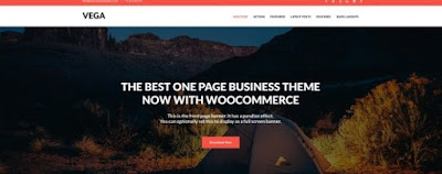 Vega Theme For WordPress