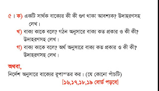 Hsc Bangla 2nd Paper Suggetion 2020 Chittagong Board | Hsc Bangla 2nd Paper Suggetion 2020