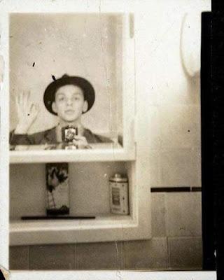 Selfie joven Frank Sinatra en 1938