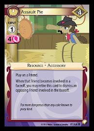 My Little Pony Assault Pie Equestrian Odysseys CCG Card